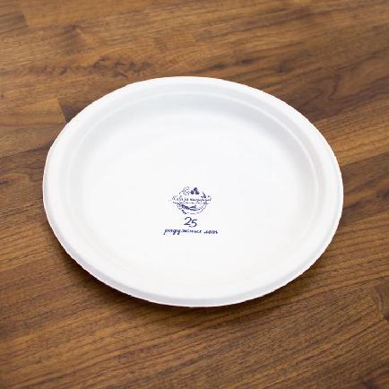 бумажная тарелка
